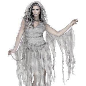 Enchanted Ghost Bride Spirit Haunted Goth Costume